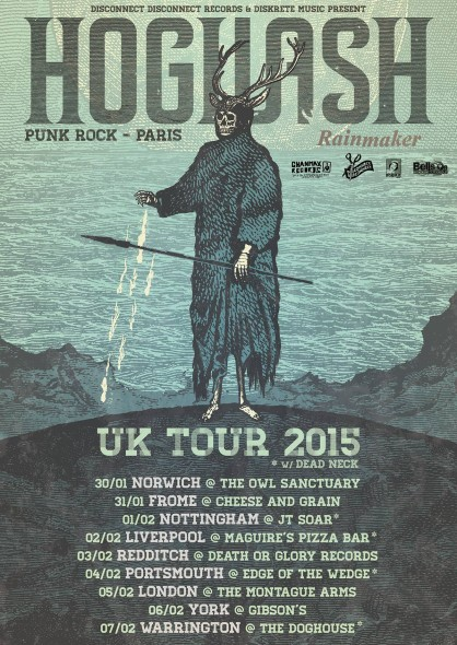 New Final Hogwash Tour Poster